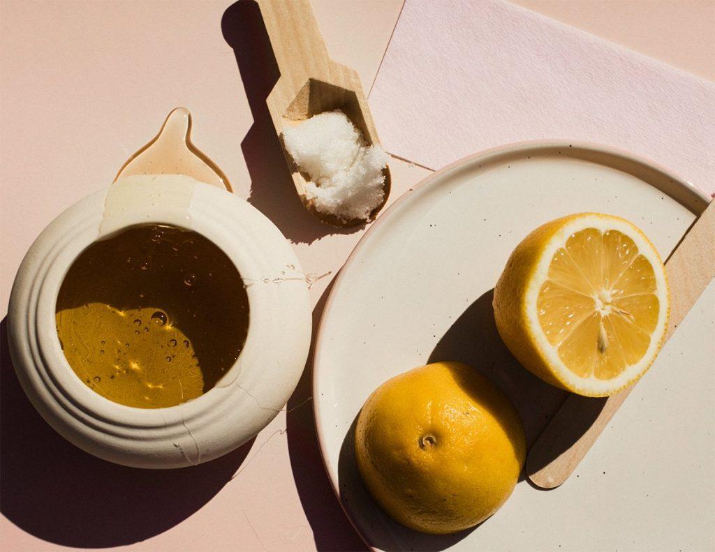 sugar honey lemon
